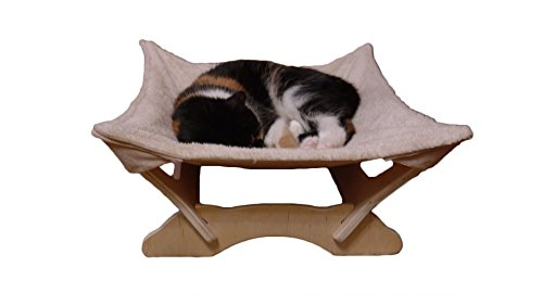 Cat Hammock with Stand | Natural Material Cats Love for Any Cat Lover 5
