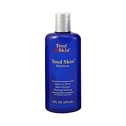 Tend Skin The Skin Care Solution For Unsightly Razor Bumps, Ingrown Hair And Razor Burns, 8 Fl. Oz Bottle