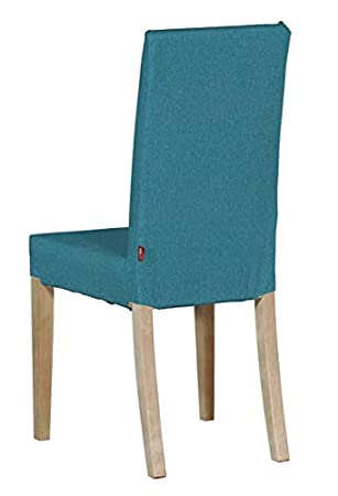 Dekoria Housse De Chaise Ikea Harry Turquoisebleu