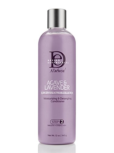 Design Essentials Agave & Lavender Moisturizing & Detangling Conditioner-Blow-Dry & Silk Press Collection - 12oz