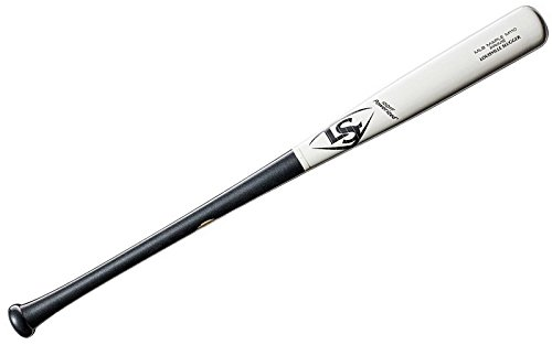 Louisville Slugger 2019 MLB Prime Maple M110 White Stripe Baseball Bat, 34'/31 oz