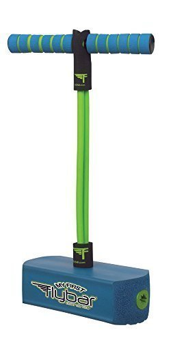 My First Flybar - Blue Foam Pogo Jumper For Kids - Fun and Safe Pogo Stick For Toddlers, Durable Foam and Bungee Jumper For Ages 3+, Supports up to 250lbs