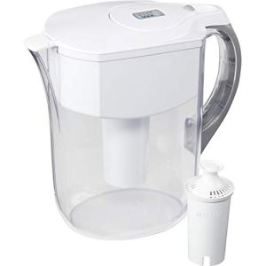 Brita Water Filter Pitchers, Large 10 Cup, White 3