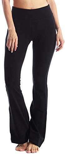 Cotton spandex yoga pants
