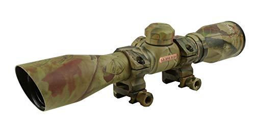 TRUGLO 4x32mm Compact Rimfire and Shotgun Scope Series, Diamond Reticle, Realtree Xtra