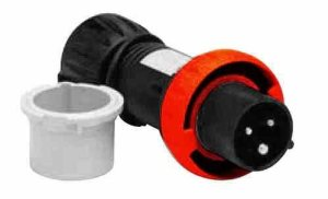 Hazardous Location Pin and Sleeve Plug – 2 Pole 3 Wire – 20 Amp – ATEX Rated