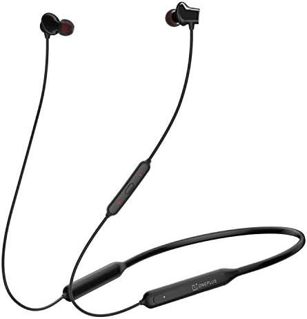 OnePlus Bullets Wireless Z in-Ear Bluetooth Earphones with Mic (Black)