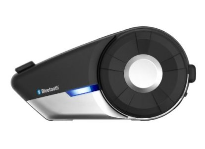 Sena 20S-01 Motorcycle Bluetooth 4.1 Communication System with HD Audio and Advanced Noise Control (Single)