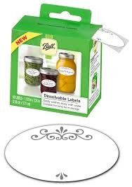Ball-Dissolvable-LABELS-120-labels-total-or-two-boxes-of-60-labels-for-canning-or-mason-jars-labels-freezer-labels-washable-easily-removable-gift-tags-mason-jar-labels