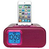iHome IH22 Alarm Clock Speaker System for iPod/iPhone with 30 Pin (4G and Below)
