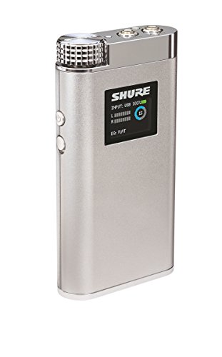 Shure SHA900 Portable Listening Amplifier with USB DAC and Customizable EQ Control