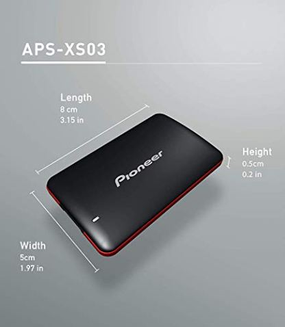 Pioneer-3D-NAND-External-SSD240-GB-Portable-Solid-State-Drive-USB-31-Gen-1-APS-XS03-240