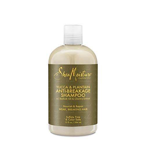 Shea Moisture Yucca & Plantain Anti-Breakage Strengthening Shampoo-13 oz