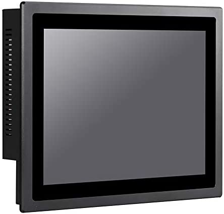 12 Inch IP65 Industrial Touch Panel PC,All in One Computer,10 Points Capacitive TS,Windows 7/10,Linux,Intel J1800,(Black),[HUNSN WD13],[3RS232/VGA/LAN/5USB2.0/1USB3.0/Audio],(Barebone System)