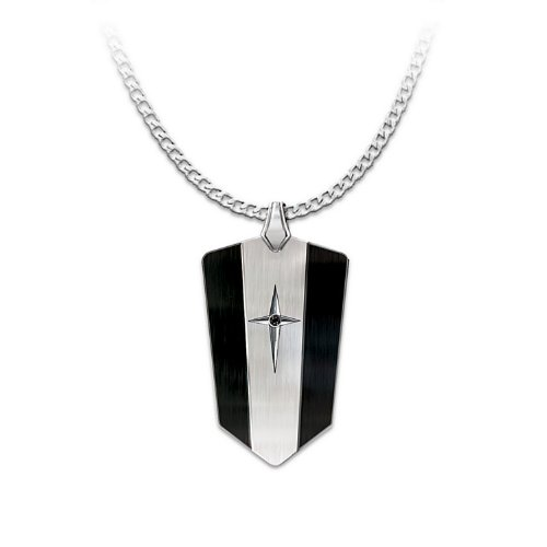 Bradford Exchange Men's Pendant: Protection and Strength for My Son Pendant Necklace by The