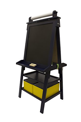 31qorilmvyl little partners 2 sided a frame art easel with chalk board - Easel For Picture Frame