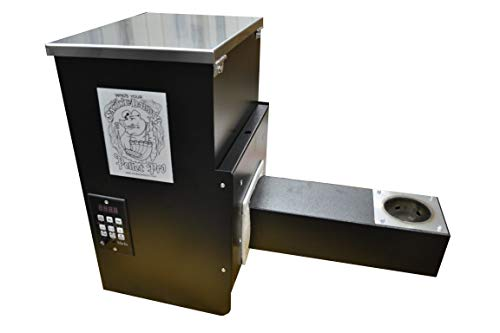 """Pellet Pro 12"""" Stainless Steel Pellet Hopper Assembly Holds 35# of Pellets & Includes Our True PID Controller"""