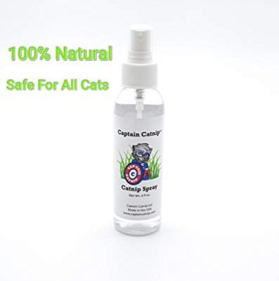 Captain Catnip Organic Liquid Fresh Extract Spray for Cats Nepeta...