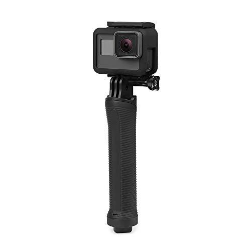 31qiTY6GvZL YANTRALAY SCHOOL OF GADGETS 3-Way Monopod Grip Arm Tripod Foldable Selfie Stick, Stabilizer Mount Holder for GoPro Hero 7/6/5, SJCAM SJ6, SJ7, SJ5000, Yi and All Action Cameras (Black)