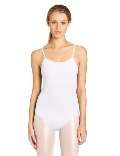 How to make a white swan costume - Capezio Women's Camisole Leotard With Adjustable Straps,White,Medium