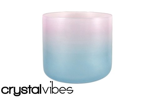 432hz NEW 7' D Sacral Chakra Aquanite Fusion Crystal Singing Bowl #cc7dm35 11000487