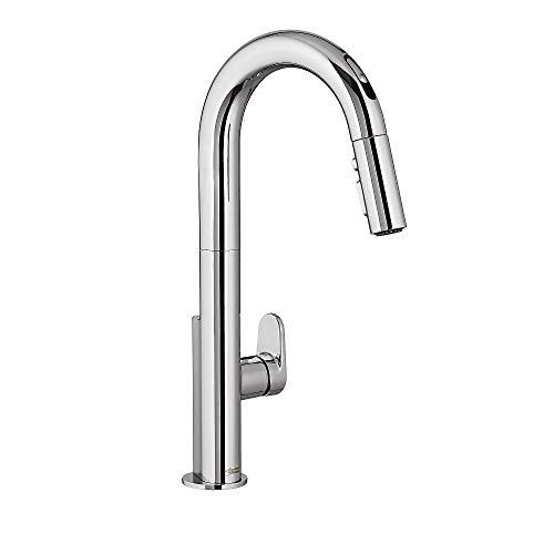 American Standard 4931380.002 Beale Single-Handle Pull Down Kitchen Faucet with Selectronic Hands-Free Technology in Polished Chrome,