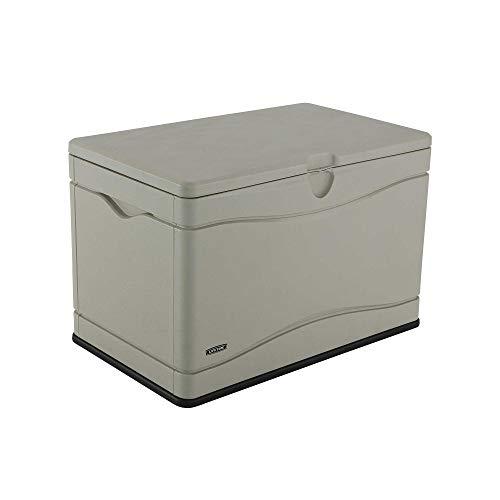 Lifetime 60012 Extra Large Deck Box, 130 Gallon, Desert Sand/Brown