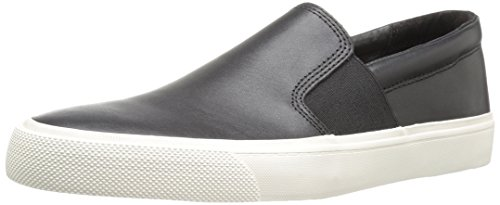 716Co%2Bc2wgL Slip-on sneaker featuring gore insets and textured wraparound midsole Comfort sockliner
