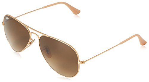 31rzEX3pUZL Made in Italy Aviator sunglasses featuring double brow bar and logo at corner of left lens Lenses are prescription-ready (Rx-able)