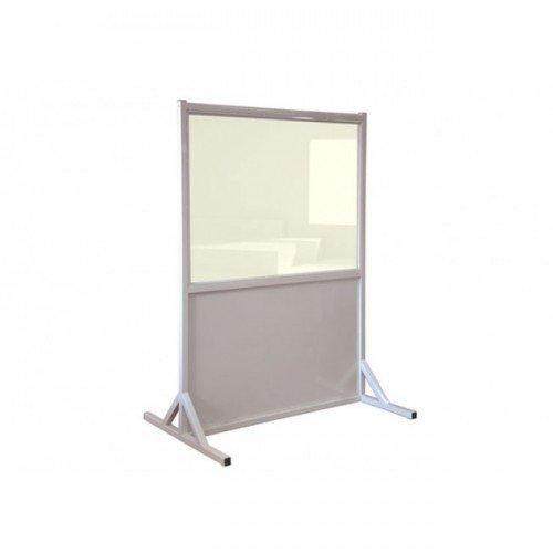 "Mobile Lead X-Ray Imaging Radiation barrier - 2.0mm (Pb) Lead Glass (36"" x 48"" Lead Glass Window)"