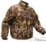 Coleman Mens Waterfowl Fleece Lined Jacket, Hunting Jacket, Advantage Max-4, X-Large