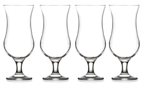 Epure Venezia Collection 4 Piece Glassware Set (Pina Colada (15.5 oz))
