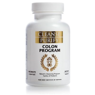 Colon Program - Part of Nature's Cleansing Program Family of Products - Cleanse Purify
