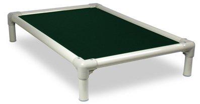 Kuranda Almond PVC Chewproof Dog Bed - XL (44x27) - Ballistic Nylon - Forest...