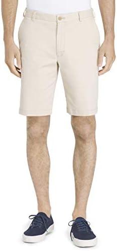 "IZOD Men's Saltwater 9.5"" Flat Front Chino Short 1"