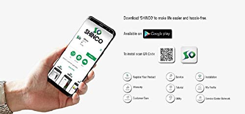 Shinco 124 cm (49 inches) Full HD Smart LED TV SO50AS-E50 (Black) (2019 Model) 13