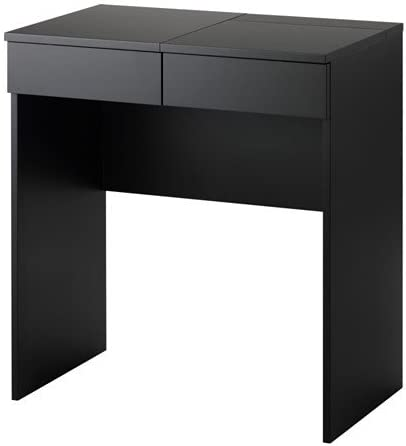 Ikea Brimnes Dressing Table In Black 70x42 Cm Amazon Co Uk Kitchen Home