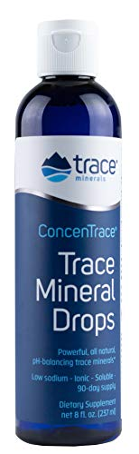 Trace Minerals Research - Concentrace Trace Mineral Drops - 8oz