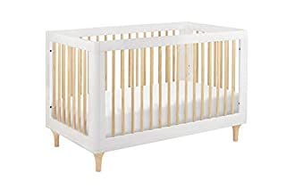Delight in the playful joy of the Lolly 3-in-1 Convertible Crib! With natural spindles, gently curved corners, and delicate natural feet, the Lolly is a clever choice for the modern nursery. Lolly features hidden hardware construction, materials and ...