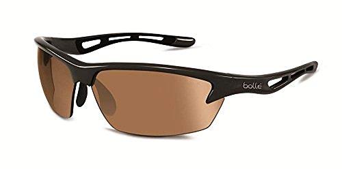 Bolle Bolt Sunglasses, Photo V3 Golf AF, Shiny Black
