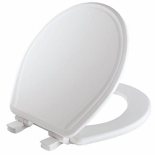 Mayfair 48SLOWA 000/848SLOWA 000 Molded Wood Toilet Seat...