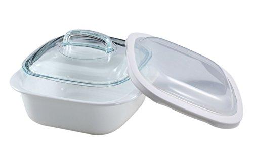 CorningWare-SimplyLite-1-12-Quart-Casserole-with-Glass-and-Plastic-Lids