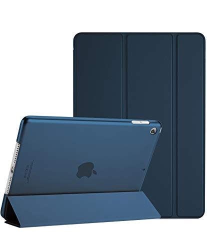 ProCase iPad Mini 5 2019 Case 5th Generation iPad Mini, Slim Lightweight Stand Protective Case Translucent Frosted Shell Smart Cover for 2019 Apple iPad Mini 5 7.9 Inch -Navy