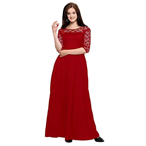 Women's Crepe Sleeve Gown