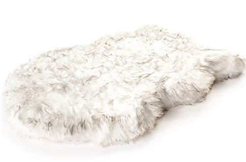 PupRug Faux Fur Memory Foam Orthopedic Dog Bed (Large/Extra Large - 50' L x 30'...
