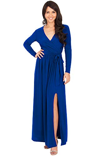 61JVLkuc%2B2L PLUS SIZE - This great maxi dress design is also available in plus sizes STYLE - Comfortable and well-fitted long sleeved maxi dresses that can be dressed up or down to suit your mood OCCASION - Perfect casual maxi dresses with sleeves or understated chic long sleeved gowns