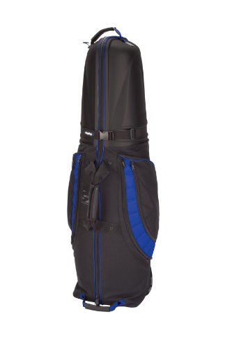Bag Boy T-10 Hard Top Golf Travel Cover, Black/Royal