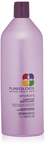 Pureology Hydrate Moisturizing Conditioner, For Medium to Thick Dry, Color Treated Hair , 33.8 oz
