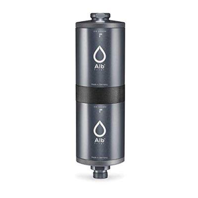 Alb-Filter-FUSION-ActiveNano-Trinkwasserfilter-gegen-Schadstoffe-Keime-Mobil-Gardena-Anschluss-Set-Made-in-Germany-Silber