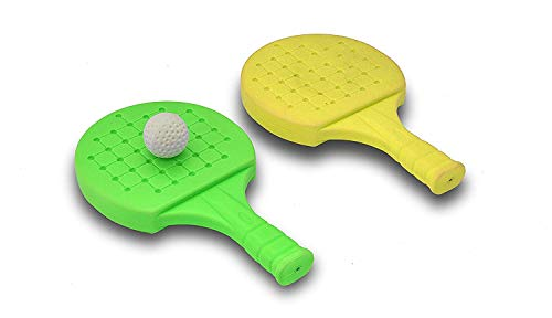 31vrl6kdPBL - FULLY Kids Indoor Outdoor Play Hand Eye Coordination Table Tennis Racket Return Gift for Kids, 50 Grams, Pack of 1